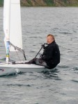Simon Pressly - Winner of  the S Craig & Sons Regatta