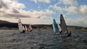 Testing conditions in Ramsey Bay