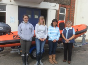 Emily, Helen, May Shiu & Kathleen with the new 'RNC' Rib