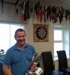 Dave Batchelor, winner of the MS&CC Regatta